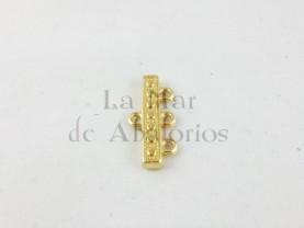 TERMINAL LABRADO 3 VIAS DORADO